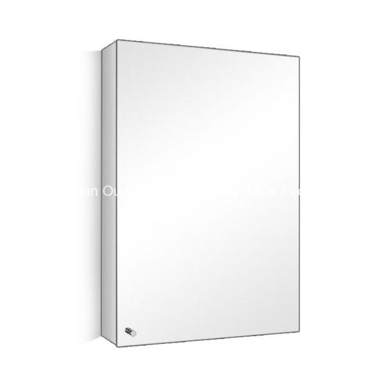 Modern Stainless Steel Bathroom Mirror