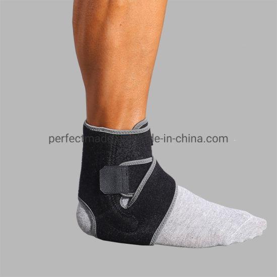Adjustable Neoprene Medical Compression Ankle Brace with Straps