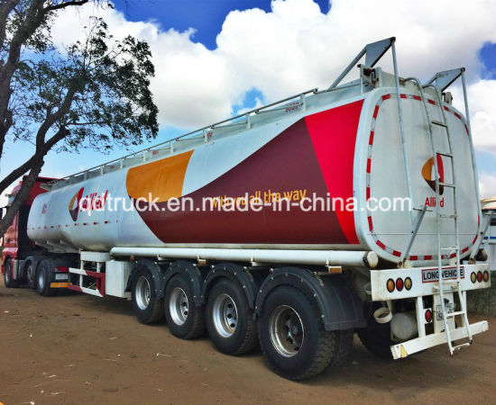 Four axles tanker trailer, Four axles tank semi trailer pictures & photos