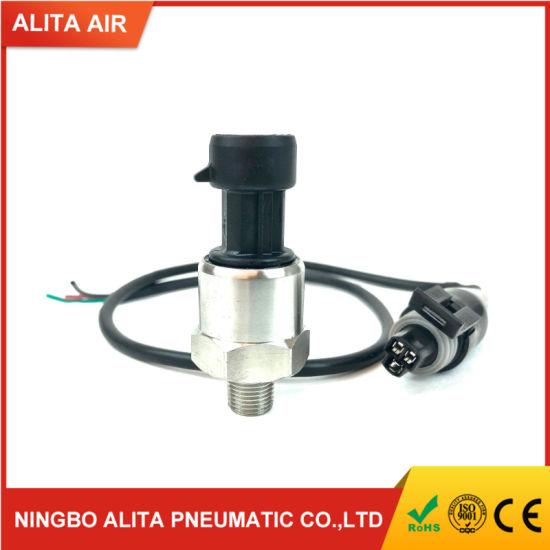 Water Diesel Gas 5V Electric Gauge Fuel Pressure Sensor 100 PSi Works for Oil