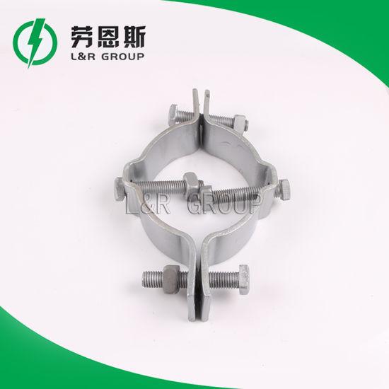 Bracket Saddle Steel/Cable Hoop/Pole Clamp Type Ca, Gca, Deg/Power Accessories