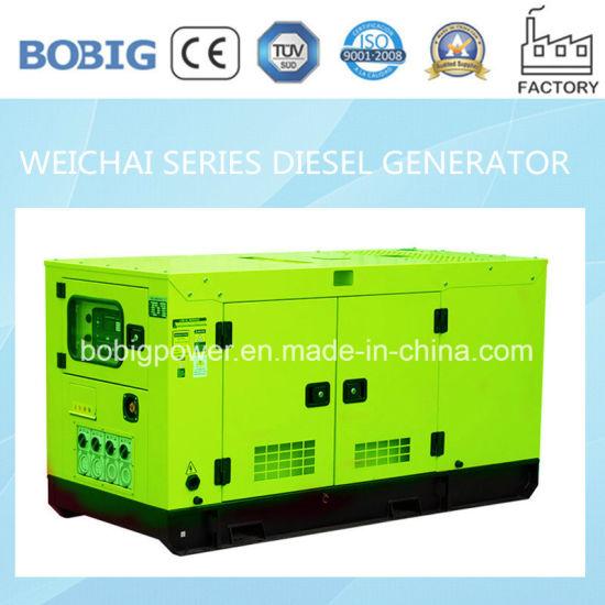 China 15kw-50kw Silent Diesel Generator Powered by Weichai