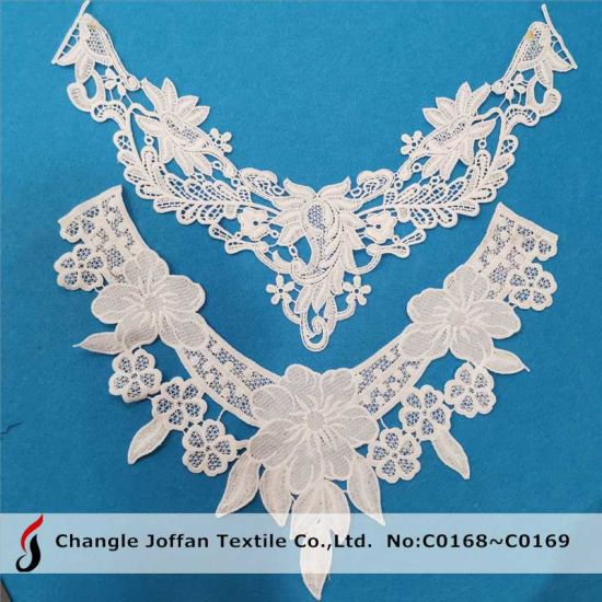 White Polyester Necklace Collar Lace for Garment Accessories (C0168)