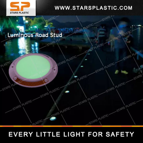 Luminescence Road Stud, Reflective Plastic Road Stud pictures & photos