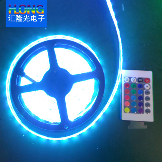 RGB LED Strip Ce&RoHS Waterproof 5050 RGB LED Strip for Thin Light Boxes /Channel Letters/Singns