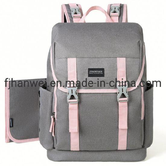 New Arrival Hot Sale Fashion Waterproof Diaper Mummy Bag