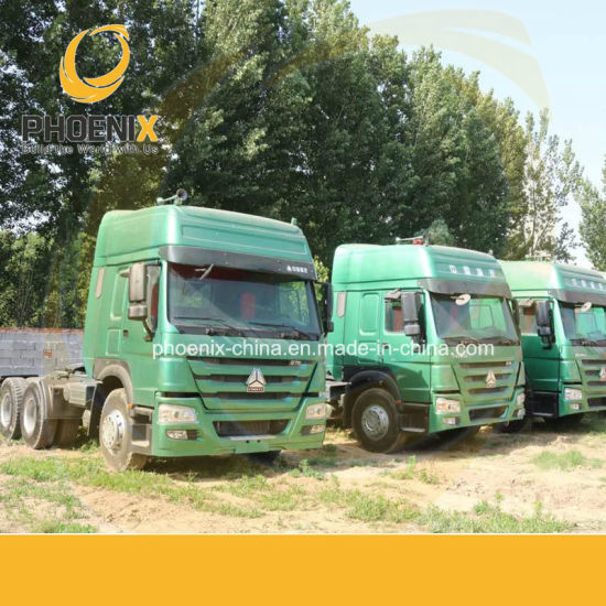 Competitive Price 6X4 10tyres Used HOWO Truck Tractor Head with Excellent Condition for Africa Market