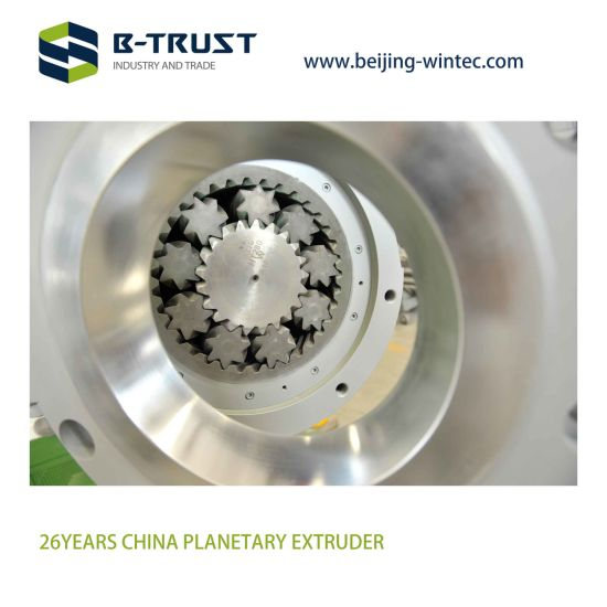 Planetary Screws and Cylinder of Planetary Extruder
