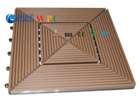 305*305*22mm DIY Decking Tile with CE, Fsg SGS, Certificate pictures & photos