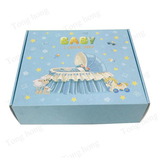 China Wholesale Personalized Customized Design Cardboard Corrugated Colored Cute Shipping Box