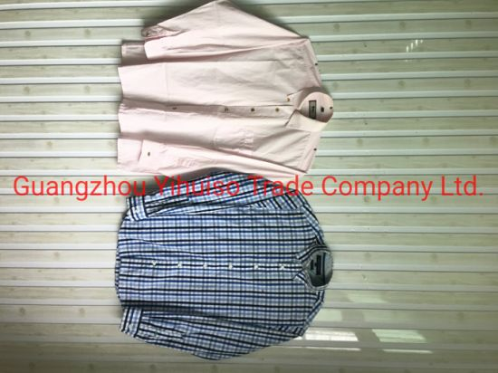 Secondhand Clothesmen Shirt with The Best Quality From China Guangzhou
