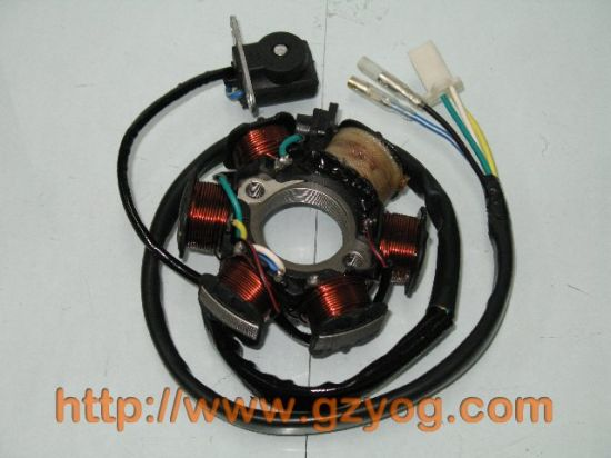 Yog Spare Parts Motorcycle Stator Comp Gy6 125 pictures & photos