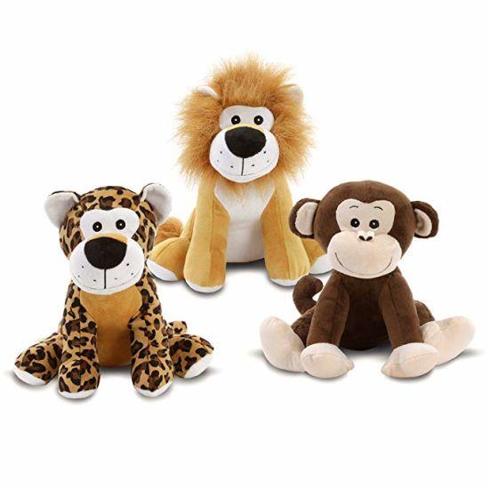 China Jungle Pals Plush Animal Stuffed Toy Doll China Bear Baby