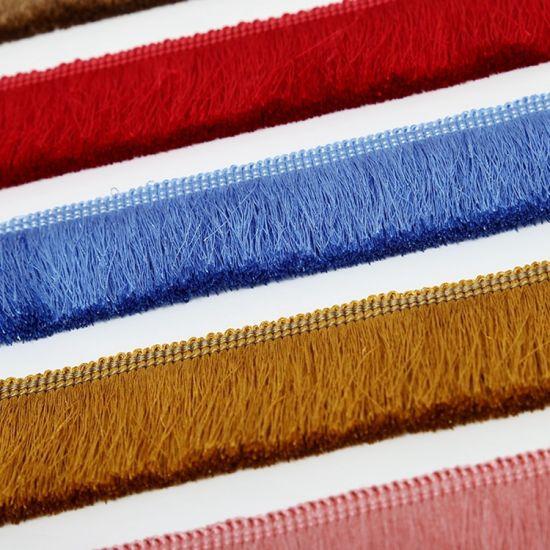 Wholesale More Colors 4cm Curtain Tassel Fringe for Home Textile Accessories