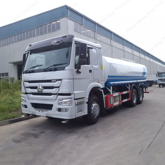 Sinotruk HOWO Water Tanker Transport Sprinkler Spray Truck for Sale pictures & photos