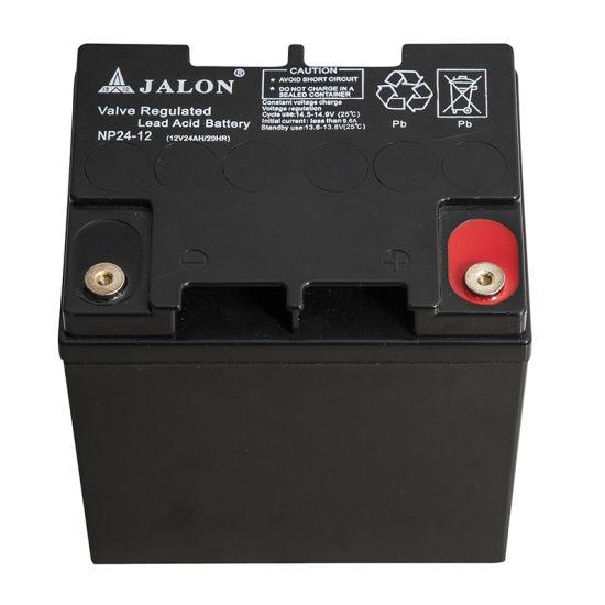 12V24ah High Quality VRLA Sealed Lead Acid UPS Solar Battery