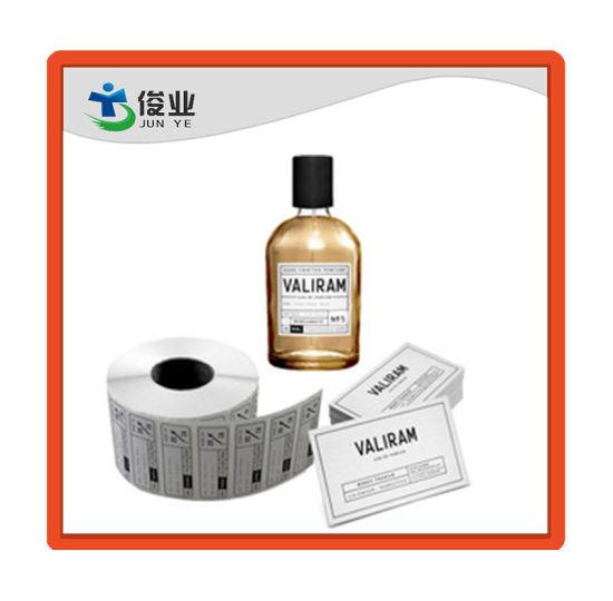 Custom Printed Perfume Bottle Sticker Custom Waterproof