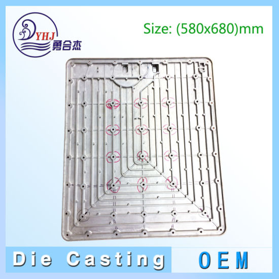 Professional and Precise Die Casting Parts in Aluminum and Zinc-Alloy with Big Size in China