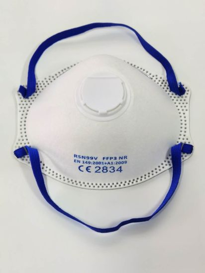 Filtering Half Mask-Respiratory Protecting Devices-Cup with Valve F3