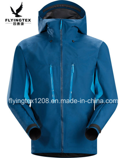 100% Polyester Men's 3 Layers Winter Jacket Clothes for Softshell Jacket 3 in 1 Jacket
