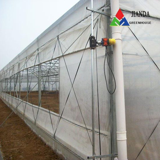 Plastic Film Green House/Hydroponic Venlo Glass/Greenhouse for Farming Agriculture of Vegetables/Flowers/Tomato/Garden
