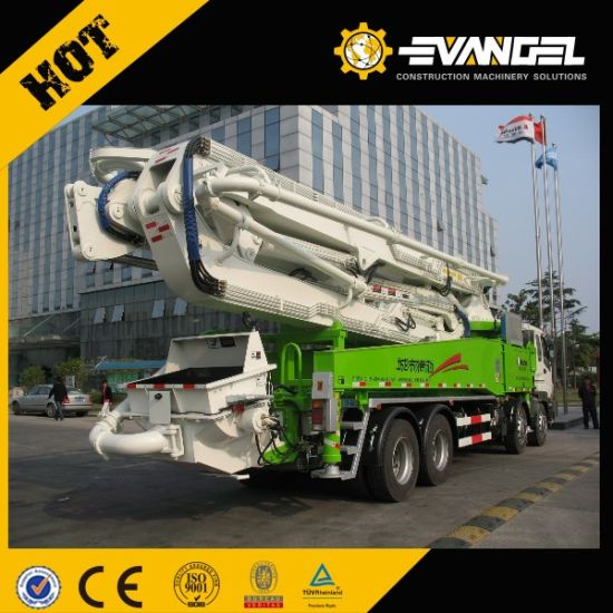 37m Truck Mounted Concrete Boom Pump (HDL5270THB) pictures & photos