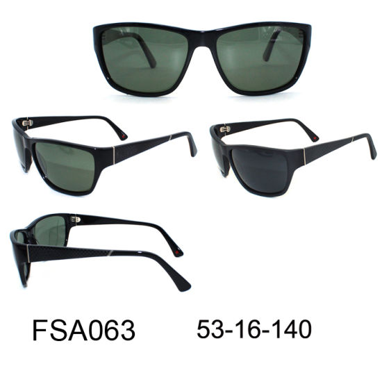 5fd37aed45 2017 Italy Design Ce UV400 Fashion Acetate Sunglasses for Men (FSA063)