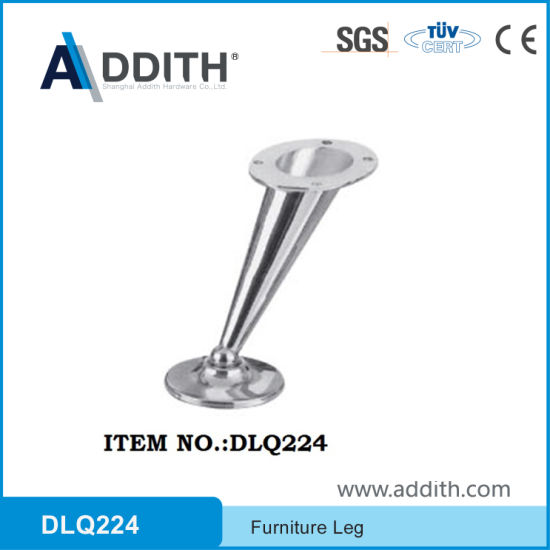 Furniture Hardware Metal Bed Base Leg for Cabinet and Home