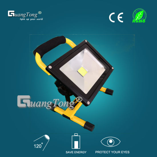 10W/20W/30W/50W Waterproof Rechargeable Flood Light LED Light Emergency Work Light pictures & photos