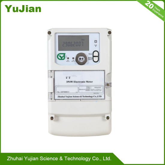 Three Phase Electronic Energy Meter to The Ordinary Urban 1 Class