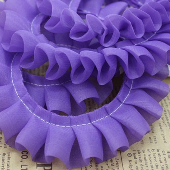 Wholesale High Quality 3cm Ruffles Lace for Wedding Decoration