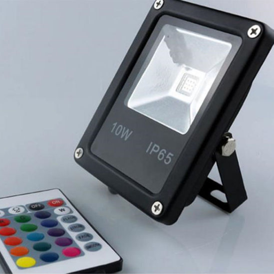 High-End 10W LED Floodlight Waterproof IP65 Outdoor LED Bulb