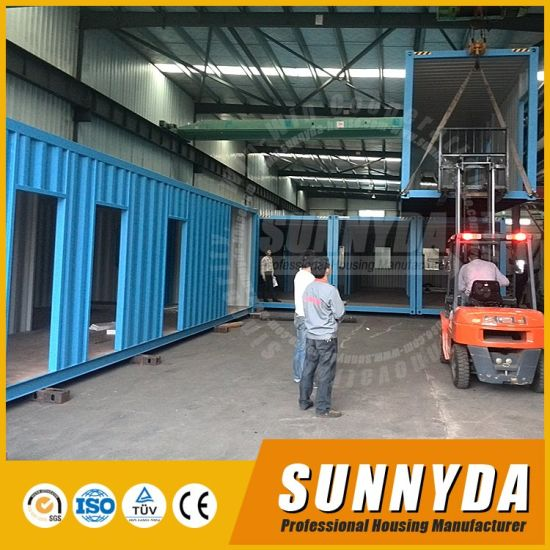 20FT Prefabricated Portable Steel Container Hotel Shipping Container