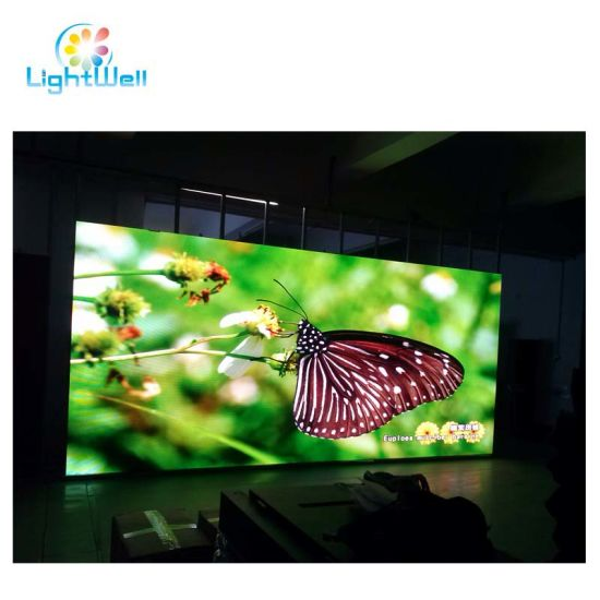 P4 Indoor with High Quality Flexible Display Big Screen LED TV