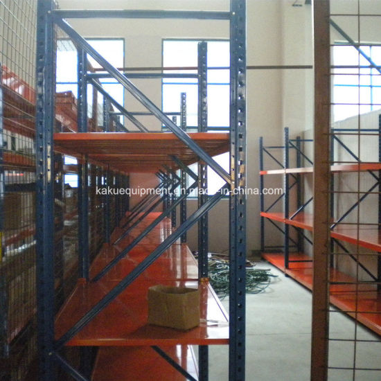 Medium Duty Long Span Warehouse Storage Racking