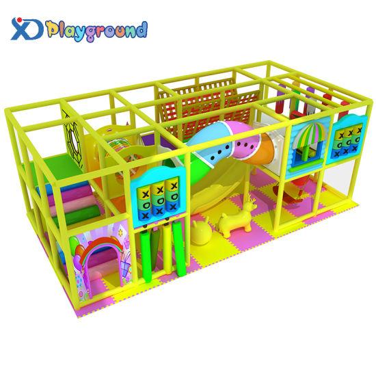 Custom Design Amusement Park Soft Play Kids Indoor Playground Equipment