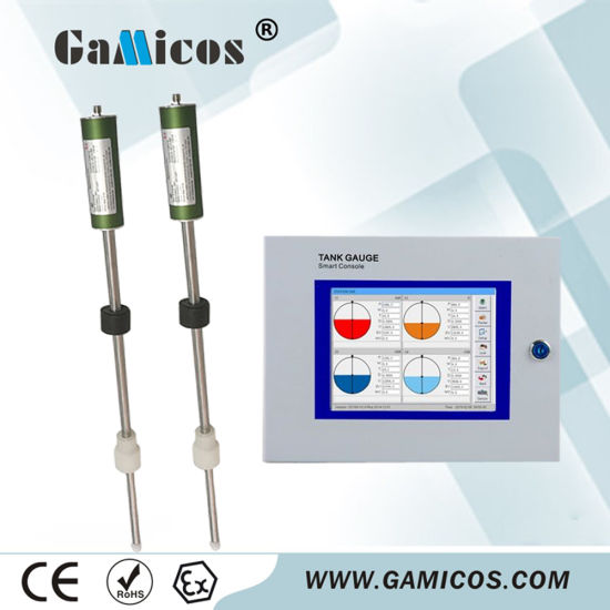 China Gasoline Oil Tank Level Monitor System Magnetostrictive Level