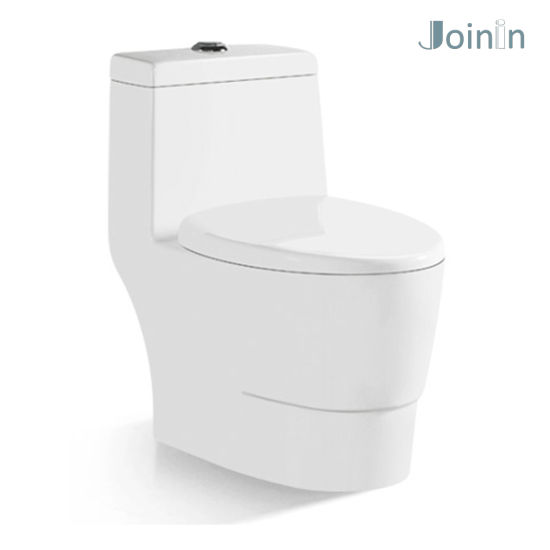 Sanitary Ware Bathroom Ceramic Wc One Piece Toilet Bowl (JY1304) pictures & photos