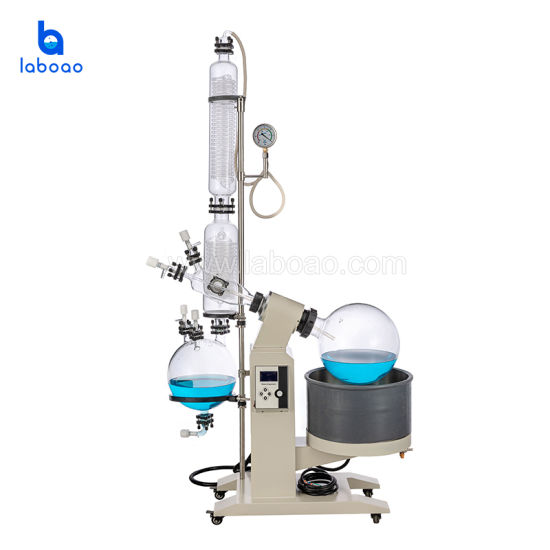 New 20L Rotary Evaporator with Efficient Glass Condenser Cooling