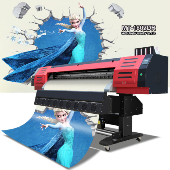 Automatic Multipurpose Digital Large Format Indoor and Outdoor Eco Solvent Printing Machine