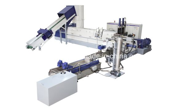 Purui Two Stage Plastic Granulating Machine for PE Film and Bottle Lables
