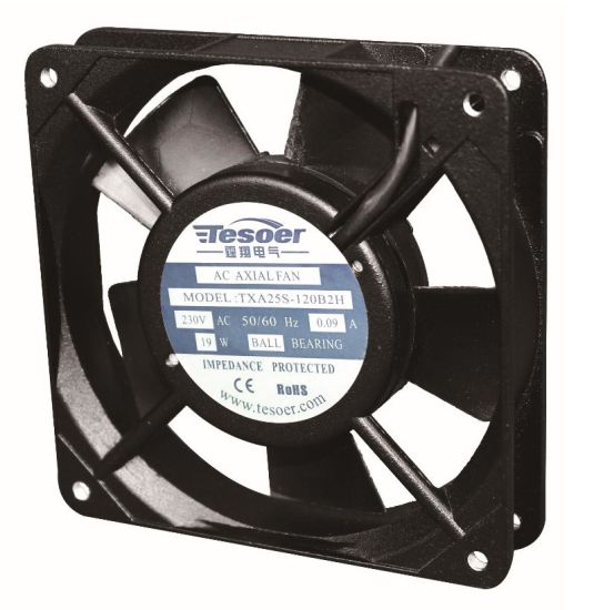 (TXA25S-120B1H) Input Portable Electric Axial Cooling AC Metal High Velocity Cooling Fan