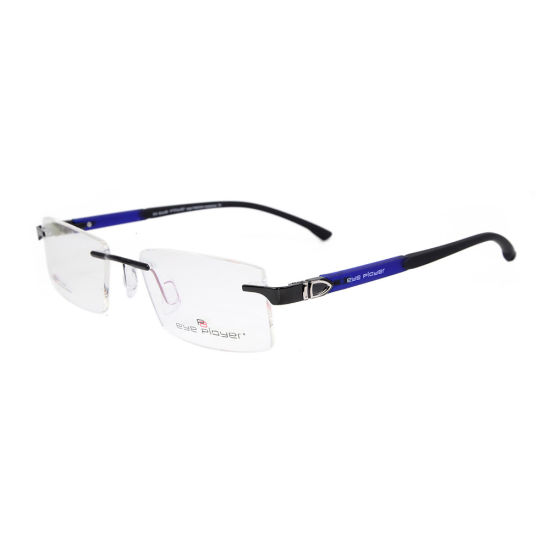 20b0c078dd1e 2019 New Design Tr90 Rimless Factory Custom Eyeglasses Metal Eyewear  Optical Frames for Men