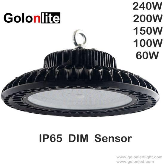 UFO LED High Bay Light 250W 200W 150W 100W Warehouse Factory Industrial Gym lamp