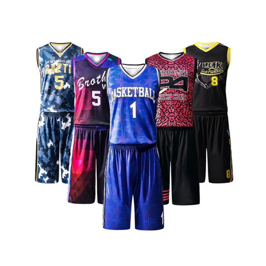 Sublimation Basketball Uniform Custom Team Basketball Wear Wholesale Latest Best Design Basketball Jersey pictures & photos