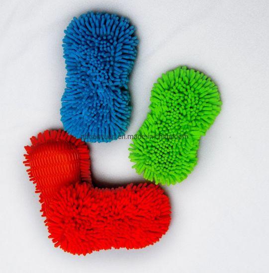 Microfiber Chenille Car Washing Cleaning Sponge
