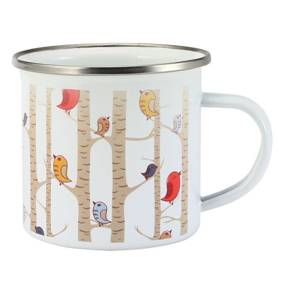 Factory Wholesale Carbon Steel Enamel Sublimation Coffee Mug Enamel Mug for Promotion pictures & photos