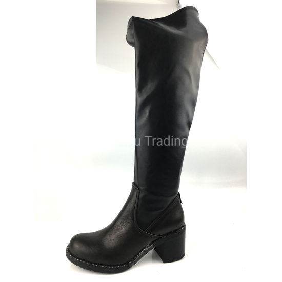 Women Lady Boot Winter Footwear Wedge Shoes Fashion Sexy Snow pictures & photos