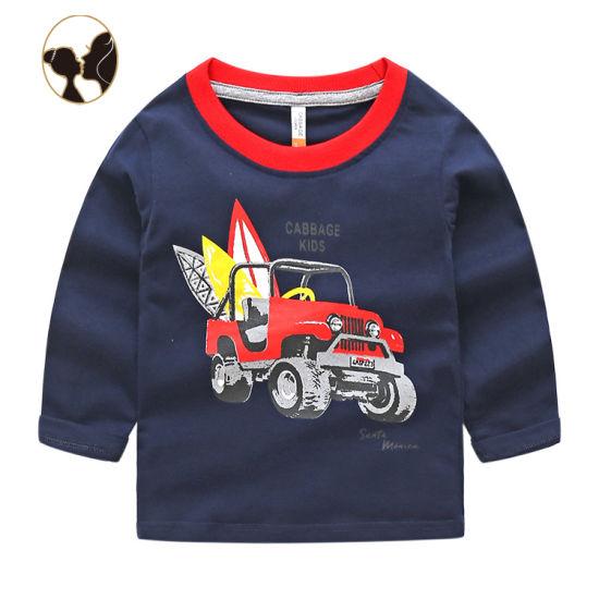 Wholesale Cotton Children Tshirt Boy Baby Tshirt T-Shirt