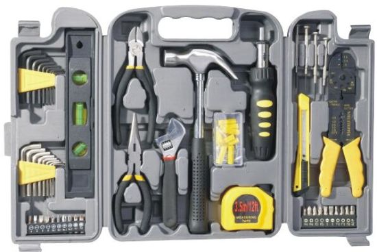 Customized Hand Tools Hardware 129PCS Household Tool Box Set Combination Tool pictures & photos